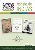 Portada de Revista de Indias